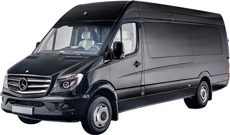 Halkidiki Taxi Services - Mercedes Sprinter Mini Bus